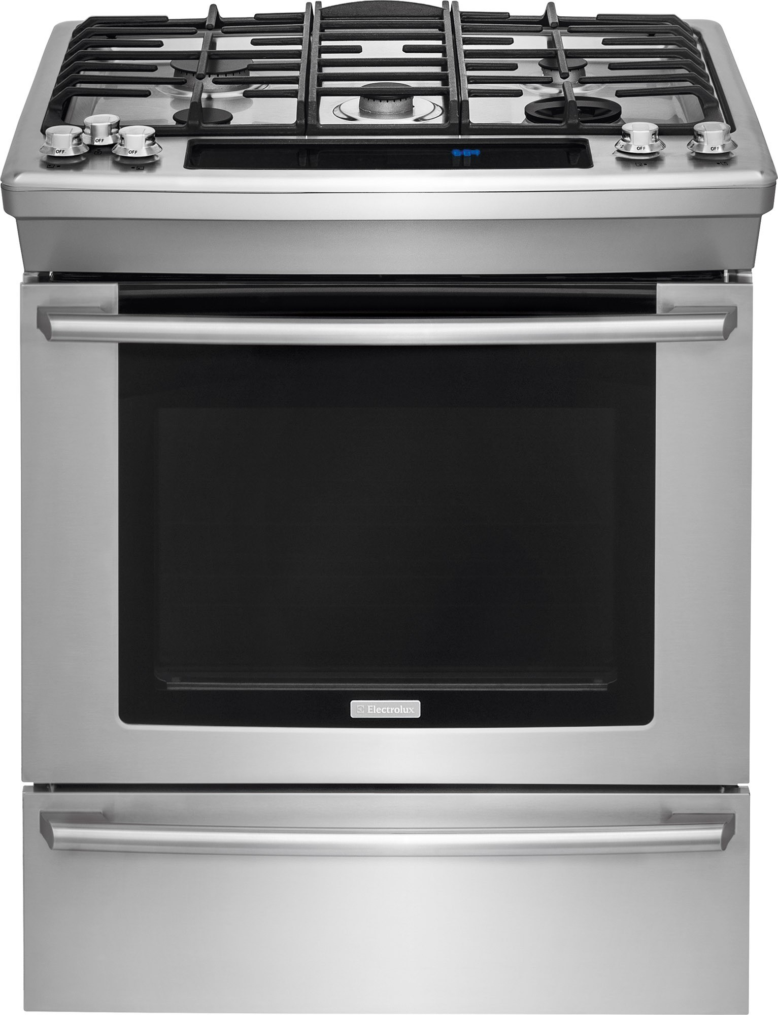 Dual Fuel Oven ~ Ew ds rs electrolux quot dual fuel slide in range