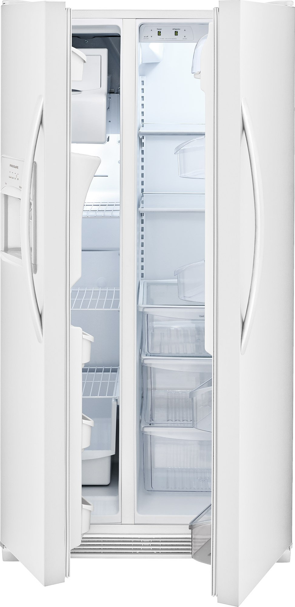 Ffss2315tp Frigidaire 33 Quot 22 1 Cu Ft Side By Side