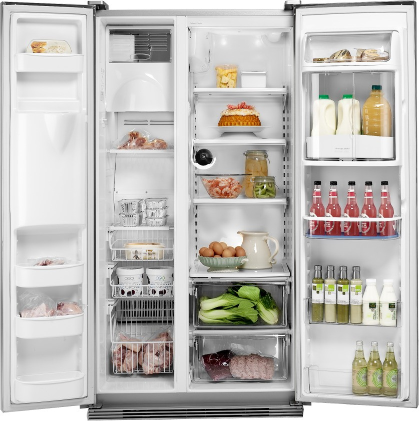rx216dt7xv2 fisher paykel 21 6 cu ft side by side refrigerator stainless steel. Black Bedroom Furniture Sets. Home Design Ideas