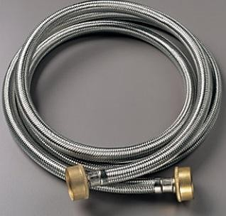 2SSFILHOSE 2SSFILHOSE main & 2 x 6 ft. Stainless Steel Braided Washer Hoses 2SSFILHOSE