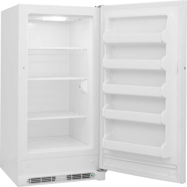 frigidaire fffu14m1qw 30 14 0 cu ft upright freezer. Black Bedroom Furniture Sets. Home Design Ideas