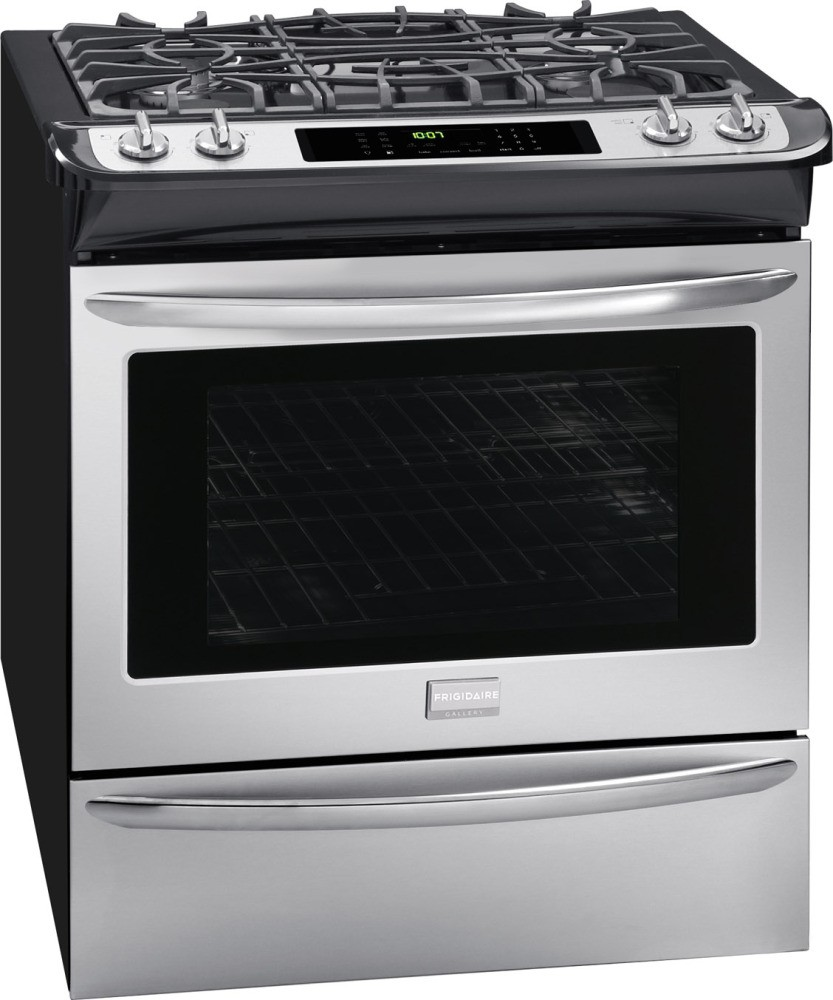 Fgds3065pf Frigidaire Gallery 30 Quot Slide In Dual Fuel
