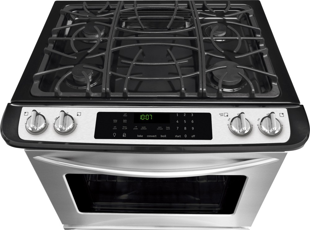 Fggs3065pf Frigidaire Gallery 30 Slide In Gas Range