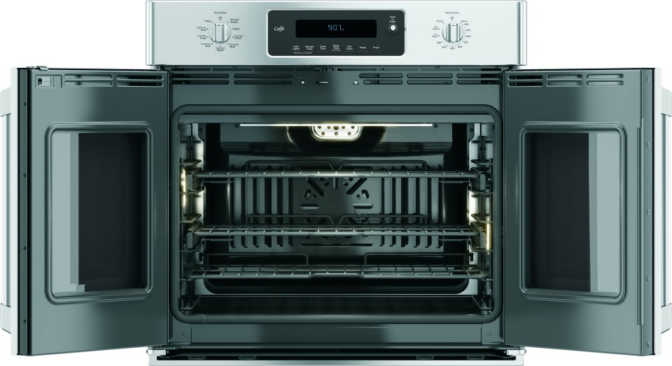 ge cafe wall oven build in stove main feature ct9070shss ge cafe series 30