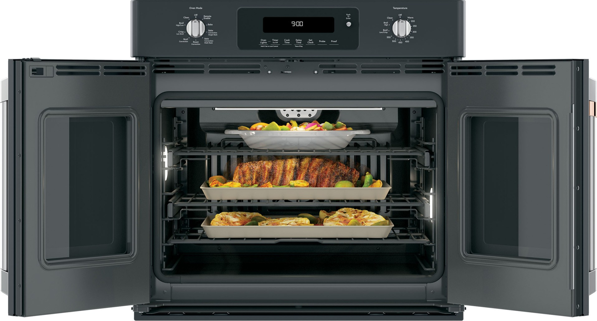 Cts90fp3md1 Cafe 30 Inch French Door Single Wall Oven