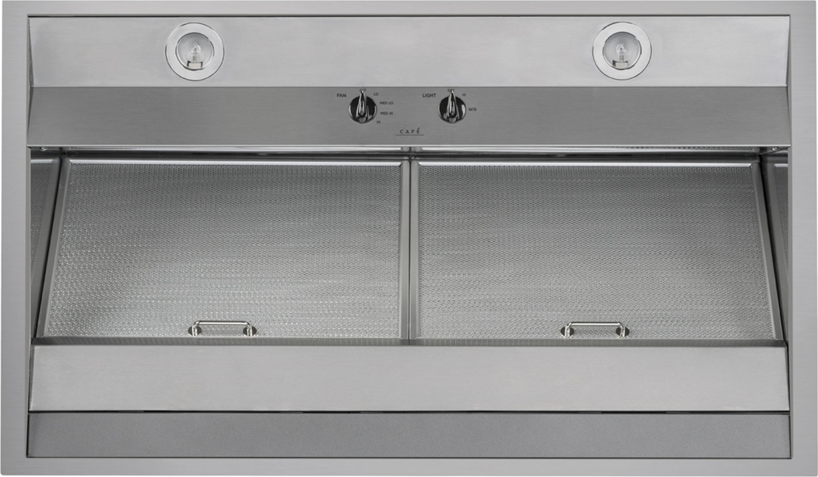 Cvw93612mss Ge Cafe 36 Quot Wall Mount Vent Hood 590 Cfm