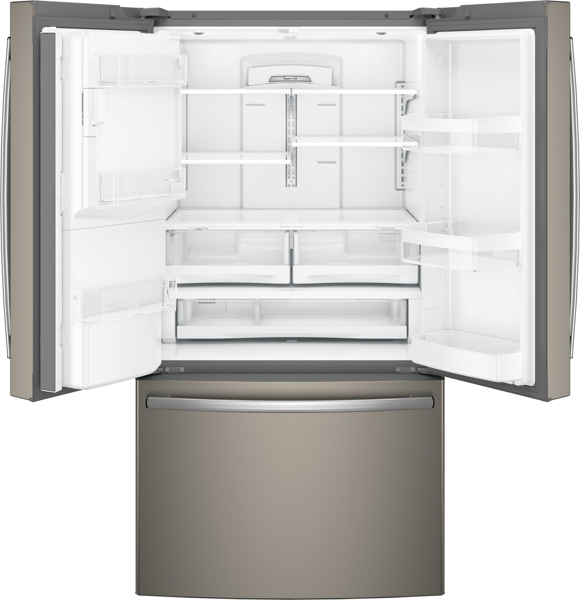 Gfe28gmkes Ge 36 Quot 27 8 Cu Ft French Door Refrigerator