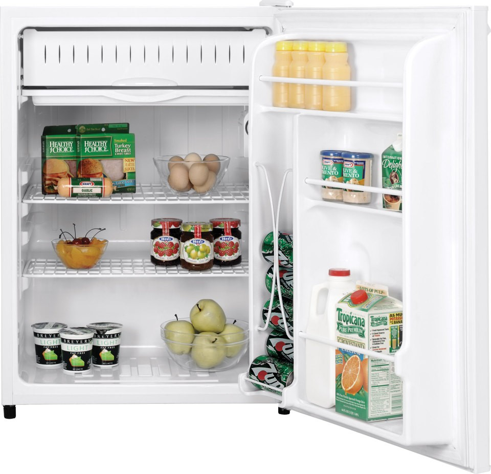 Ge Gmr06aazww 5 7 Cu  Ft  Compact Refrigerator With 2 Wire