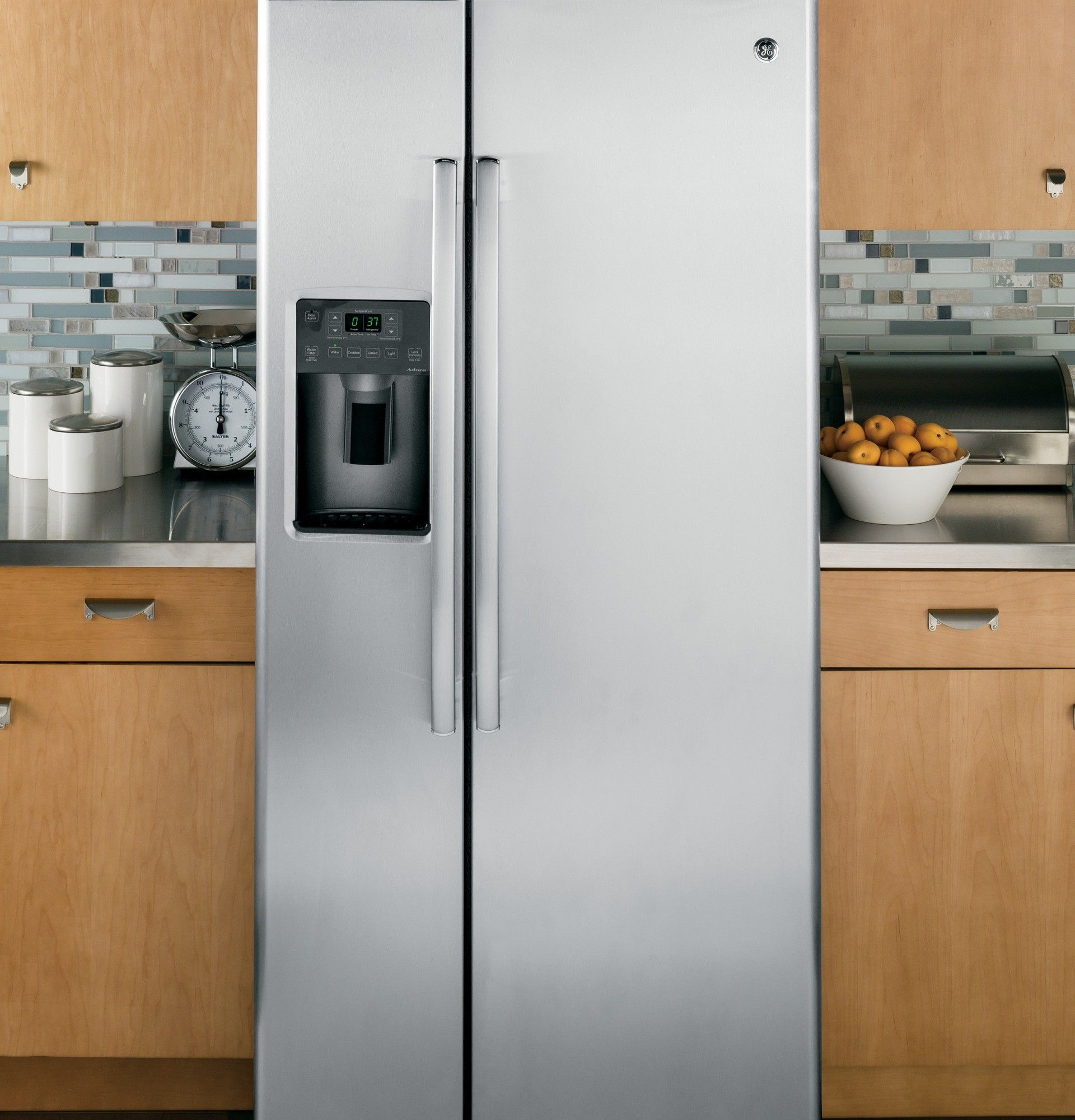 Gse23gskss Ge 32 3 4 Quot 23 2 Cu Ft Side By Side