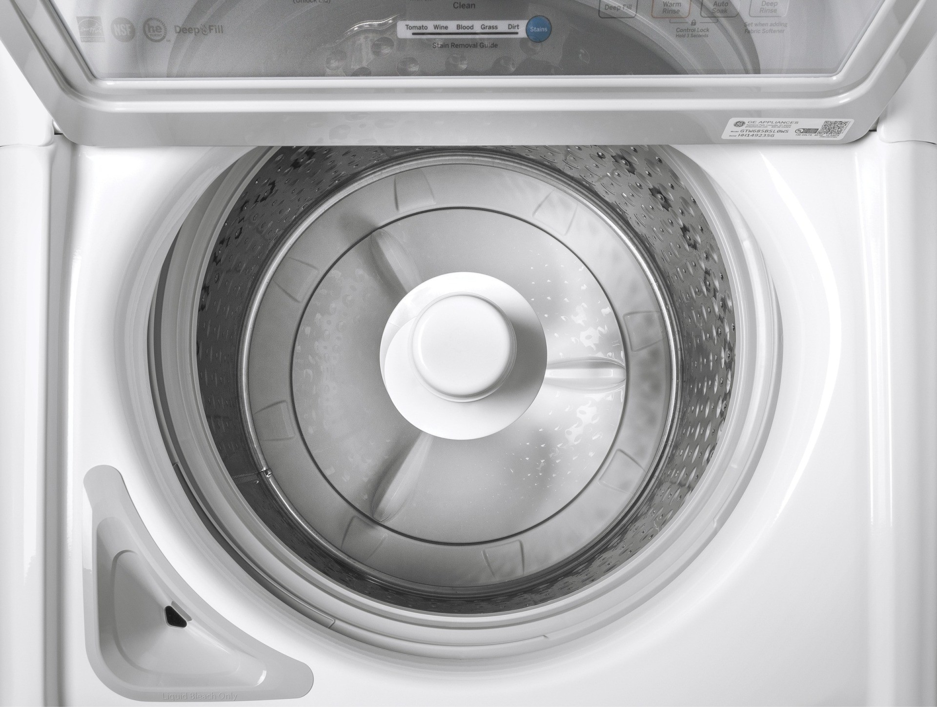 Gtw685bslws Ge 27 Quot 4 5 Cu Ft Top Load Washer Dual