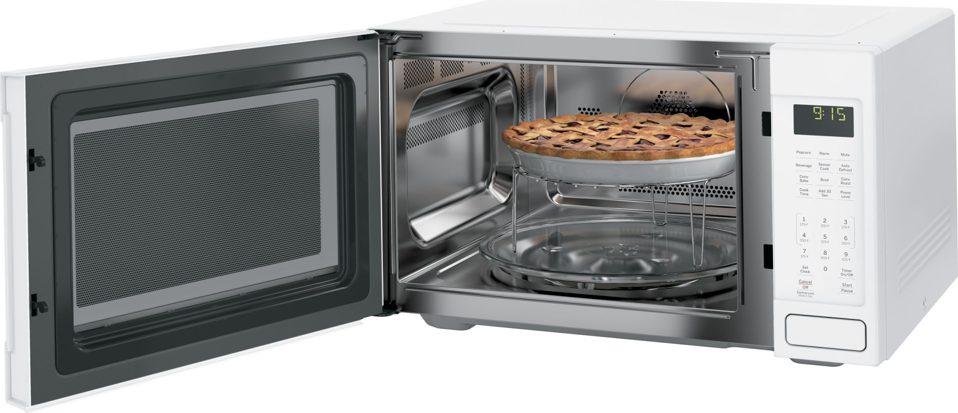 Wolf Countertop Convection Oven Reviews : Home Kitchen Appliances Cooking Microwaves GE Profile PEB9159DJWW