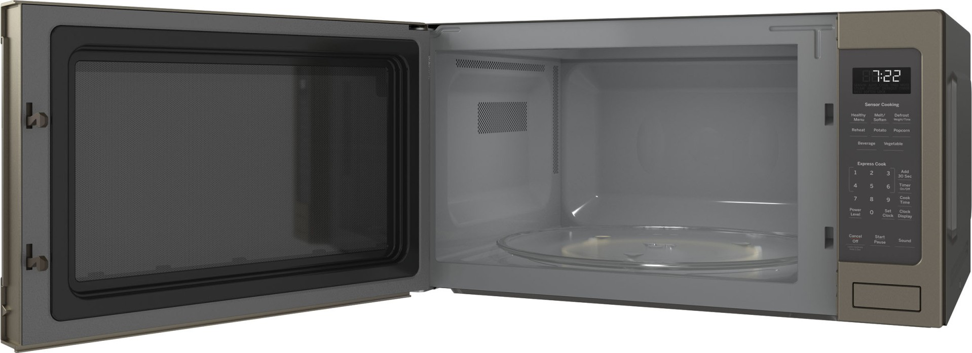 Pes7227eles Ge Profile 24 Quot Countertop 2 2 Cu Ft 1100 W