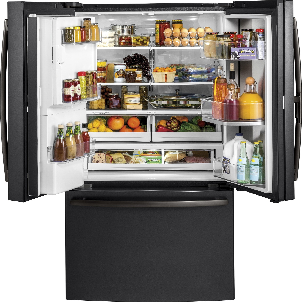 Gfd28gelds Ge 36 Quot 27 8 Cu Ft French Door Refrigerator