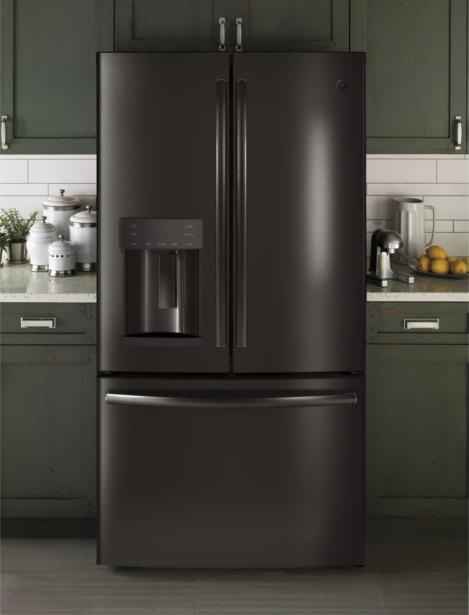 Gfe28gblts Ge 36 Quot 27 8 Cu Ft French Door Refrigerator
