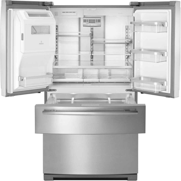 Jfx2897drm Jenn Air 36 French Door Refrigerator Stainless Steel