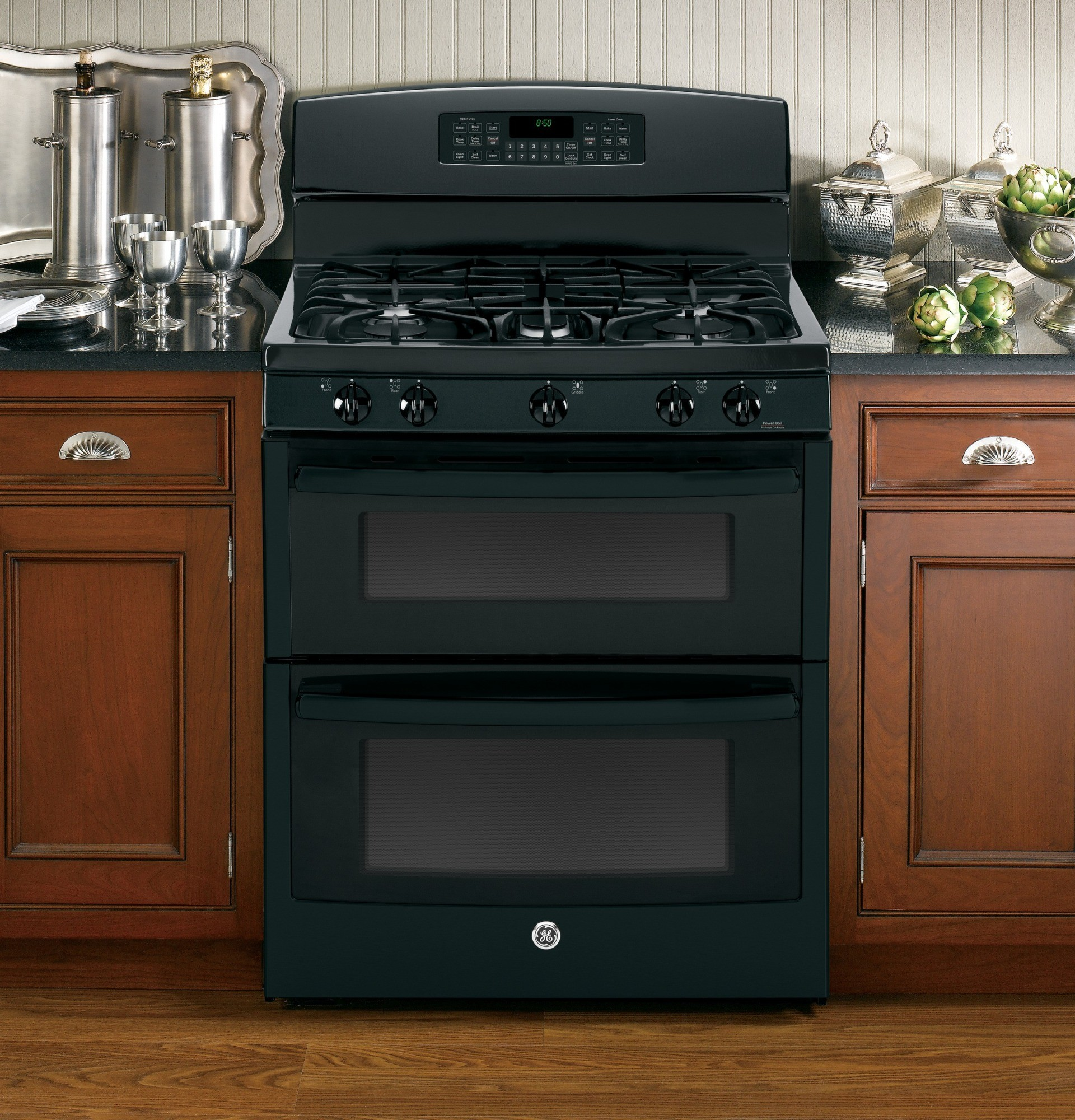 Jgb850defbb Ge 30 Quot Free Standing Gas Double Oven Range
