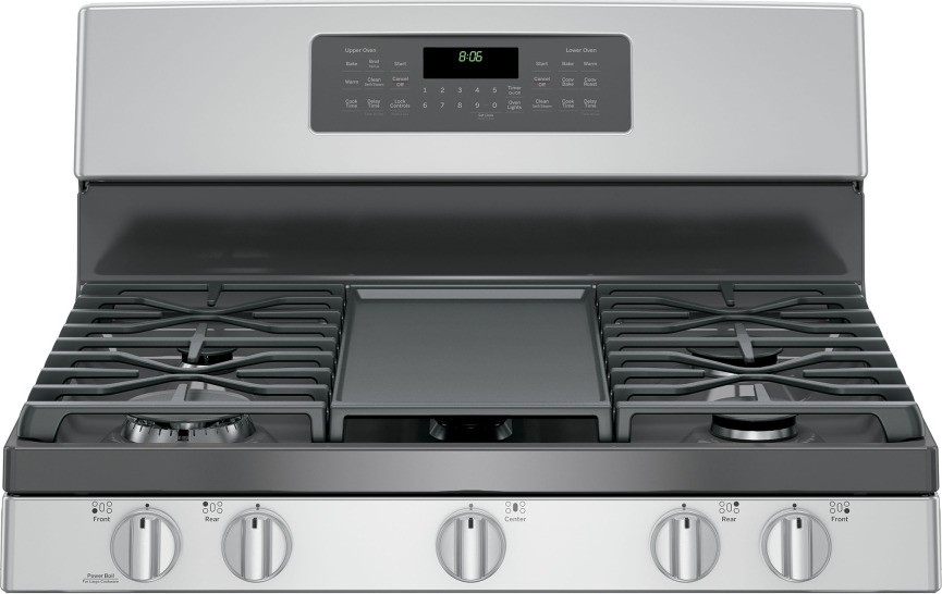 jgb860sejss ge 30 free standing gas double oven convection range stainless steel. Black Bedroom Furniture Sets. Home Design Ideas
