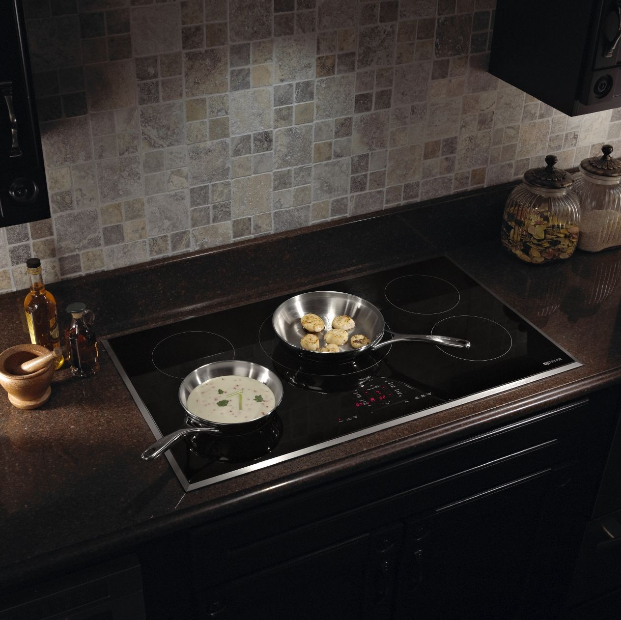 Jic4536xs Jenn Air 36 Induction Cooktop Black With Stainless Trim