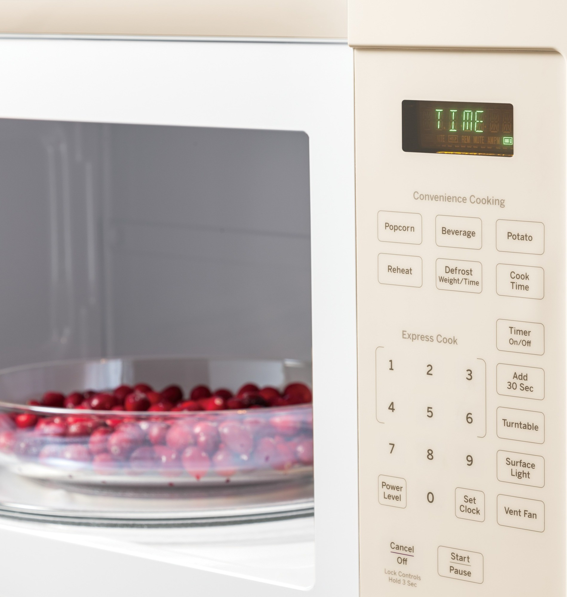 Jvm3160dfcc Ge 1 6 Cu Ft Over The Range Microwave Oven