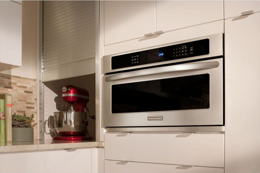 Kitchenaid Kbhs109bss 30 Built In Microwave Oven With 900 Cooking