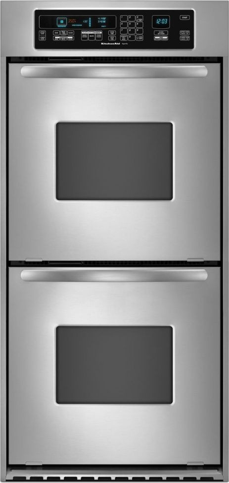 Kitchenaid Kebc247vss 24 Quot Double Electric Wall Oven With 3