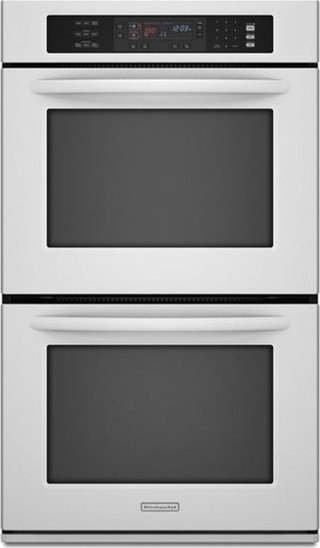 Kitchenaid Kebs278swh 27 Quot Double Electric Wall Oven With
