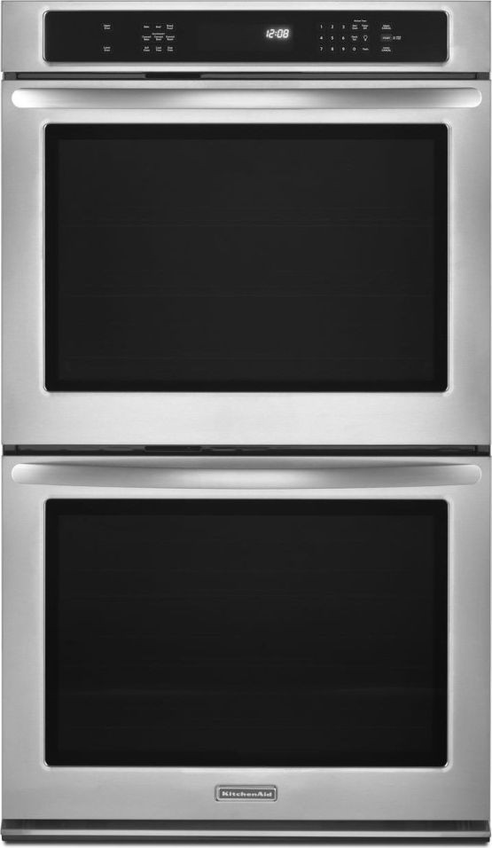 Kitchenaid Kebs279bss 27 Quot Double Electric Wall Oven With 3