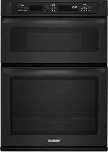 Kitchenaid Kems309bbl 30 Quot Combination Wall Oven With 5 0