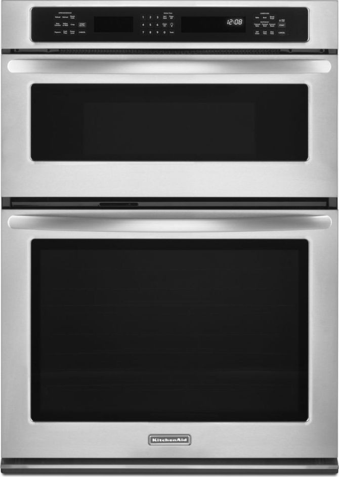 Kitchenaid Kems379bss 27 Quot Microwave Combination Wall Oven