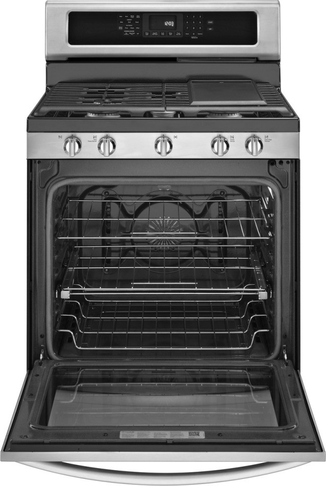 Kitchenaid Kgrs306bss 30 Quot Freestanding Gas Range With 5