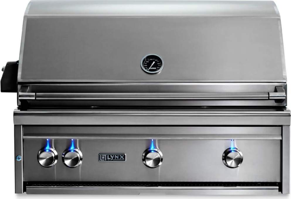 """Lynx Professional 36"""" Built In Gas Grill, All"""