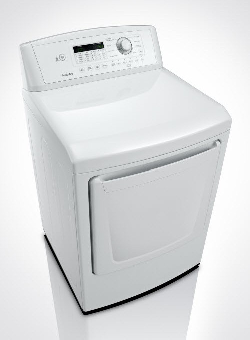 DLE4870W | LG 7 3 cu  ft  Electric Dryer - White