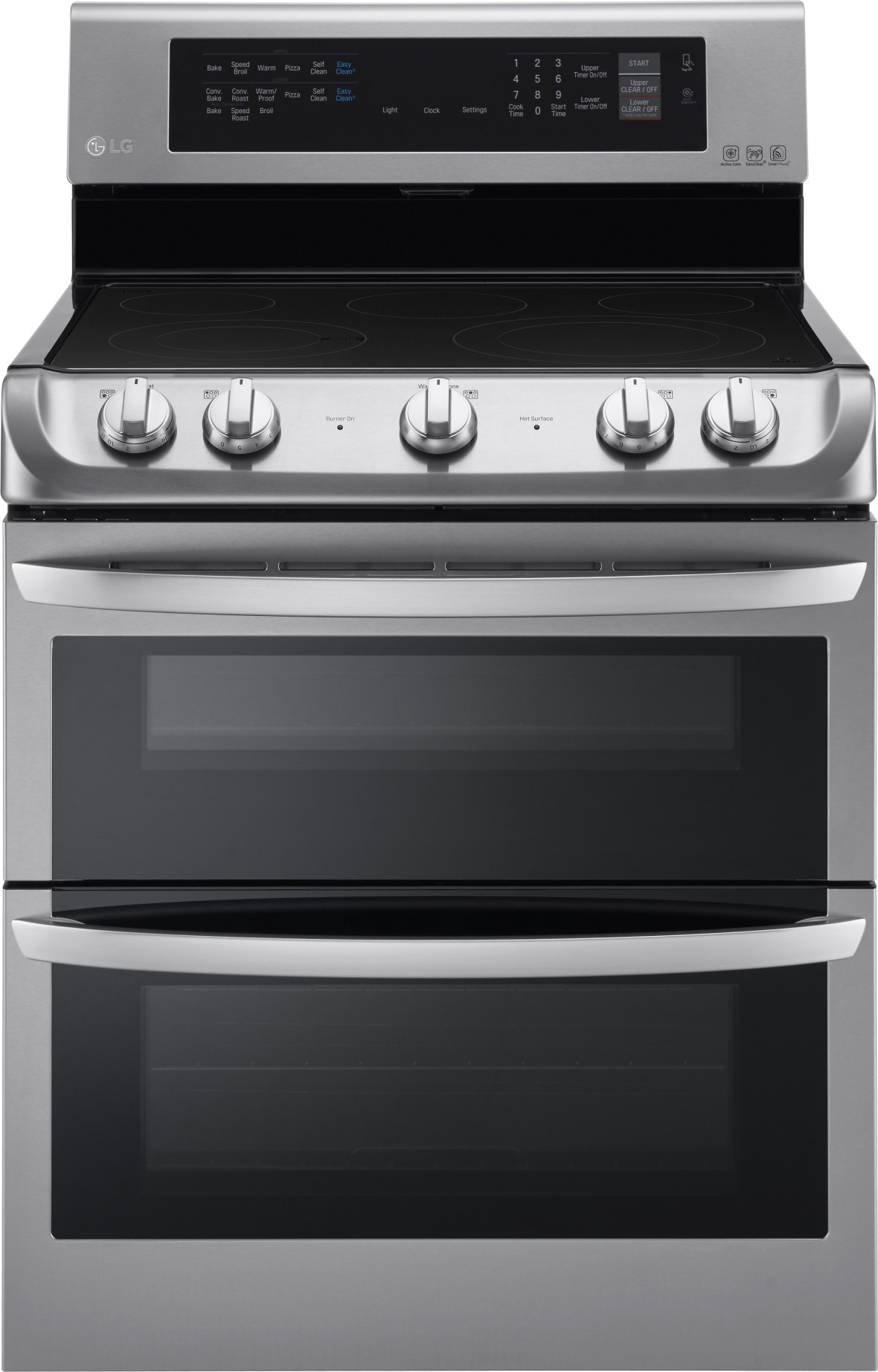 Lg Lde4413st 30 Dual Oven Electric Range Convection Self Clean