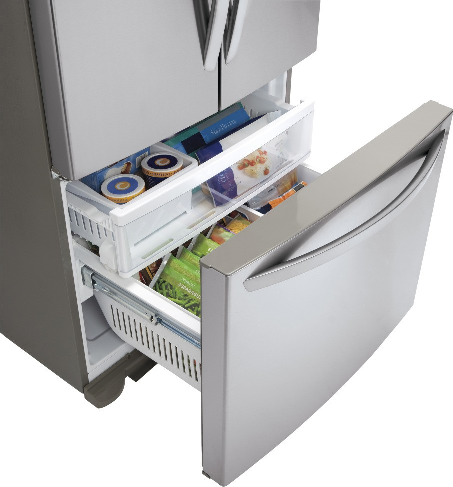 Lg Lfc25765sb 24 9 Cu Ft French Door Refrigerator With