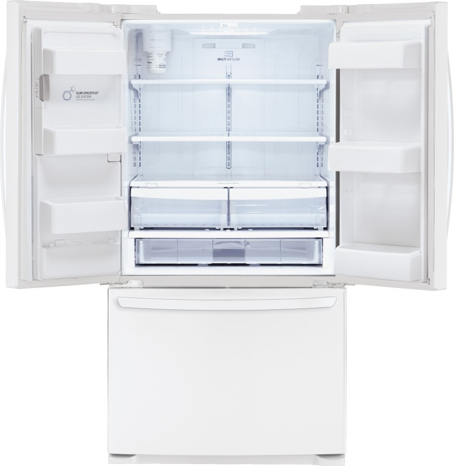 white french door refrigerator. Feature White French Door Refrigerator Y