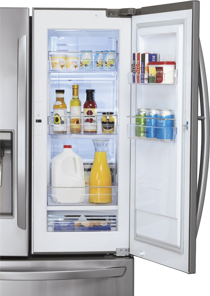 Lg Lfx31945st 30 5 Cu Ft French Door Refrigerator With