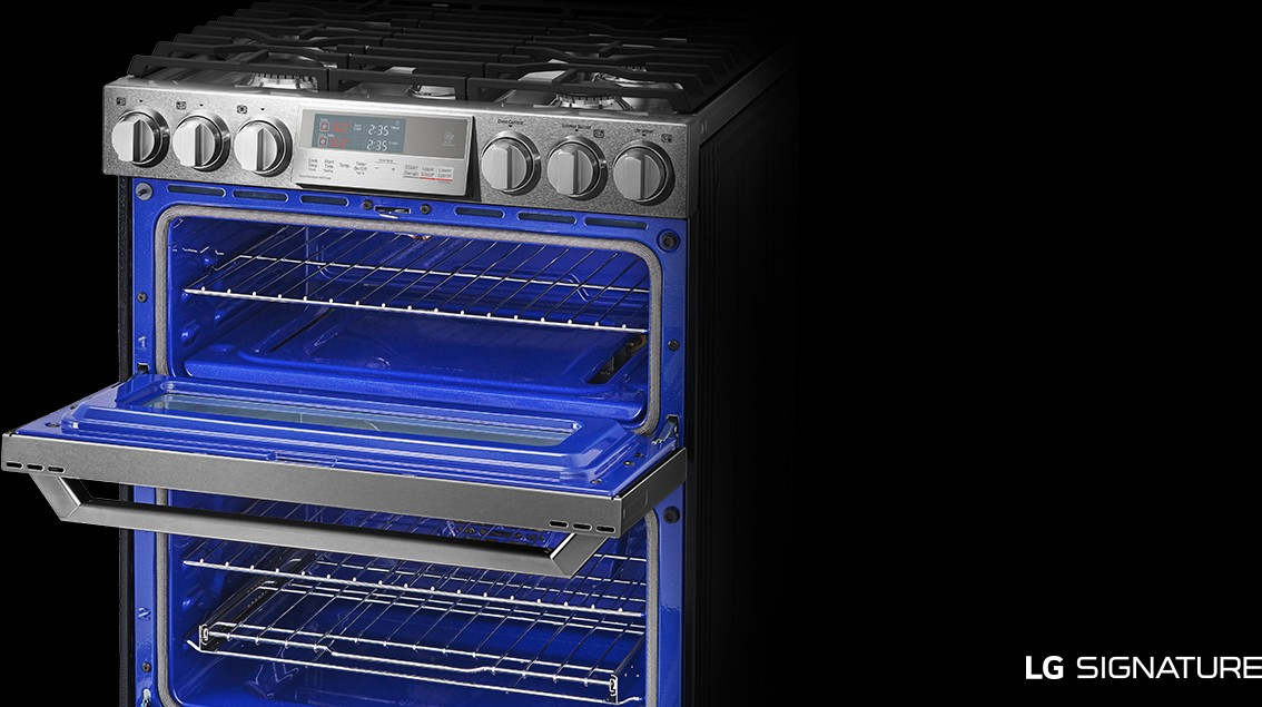 Lutg4519sn Lg Signature 30 Quot Double Oven Slide In Range