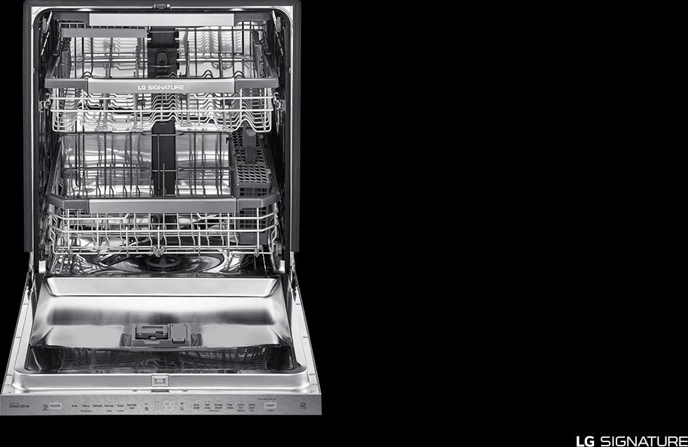 Ludp8997sn Lg Signature Series Built In Dishwasher 40 Dba