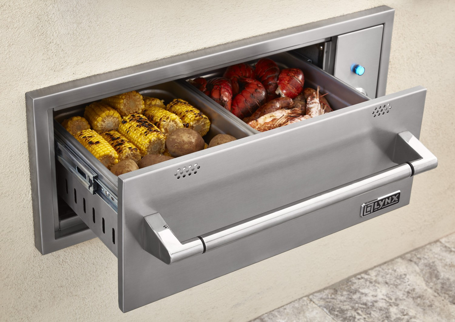 Lynx L30wd1 30 Built In Outdoor Warming Drawer