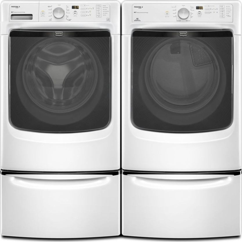 Mhw4200bw Maytag 4 1 Cu Ft Maxima X Front Load Washer