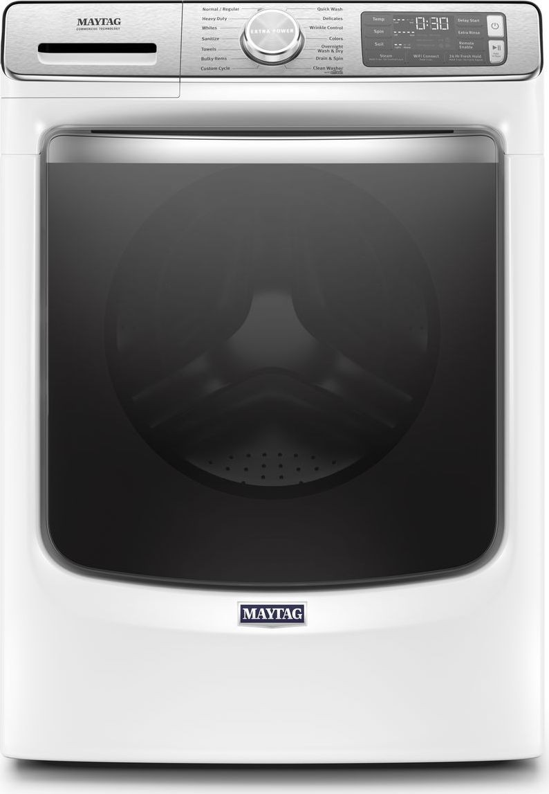 Mhw8630hw Maytag 27 Quot 5 0 Cu Ft Front Load Washer Steam