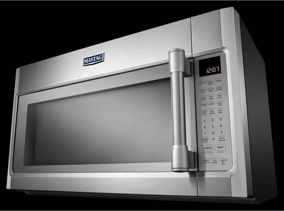 Mmv6190de Maytag 1 9 Cu Ft Over The Range Microwave