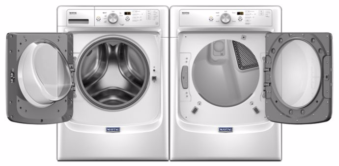 Mhw3505fw Maytag 27 Quot 4 3 Cu Ft Front Load Washer With