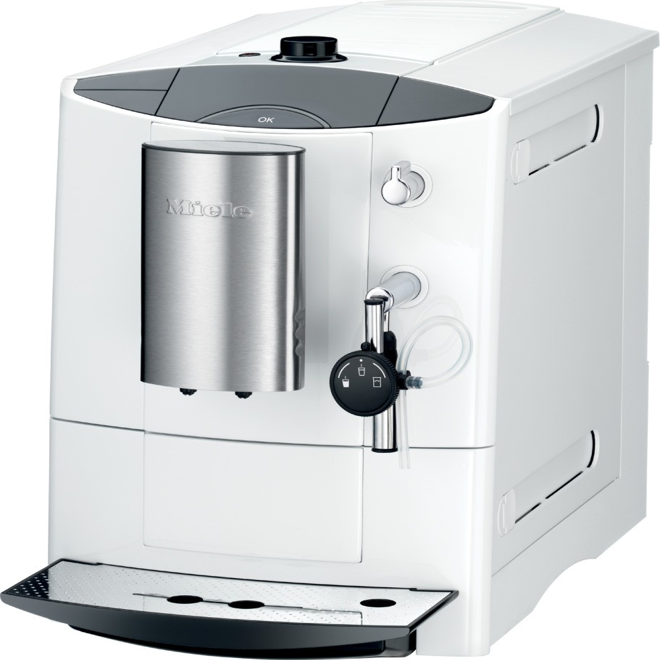 miele cm5000 countertop whole bean coffee and espresso machine white. Black Bedroom Furniture Sets. Home Design Ideas