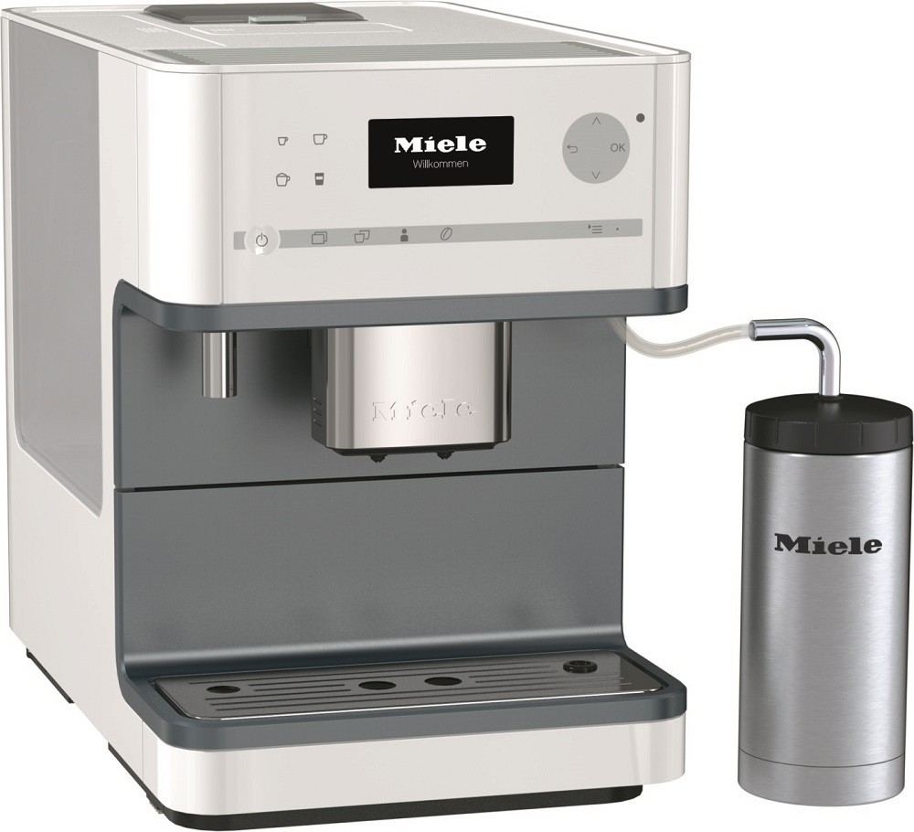 Cm 6310 Wh Miele Coffee Maker With Grinder White Make
