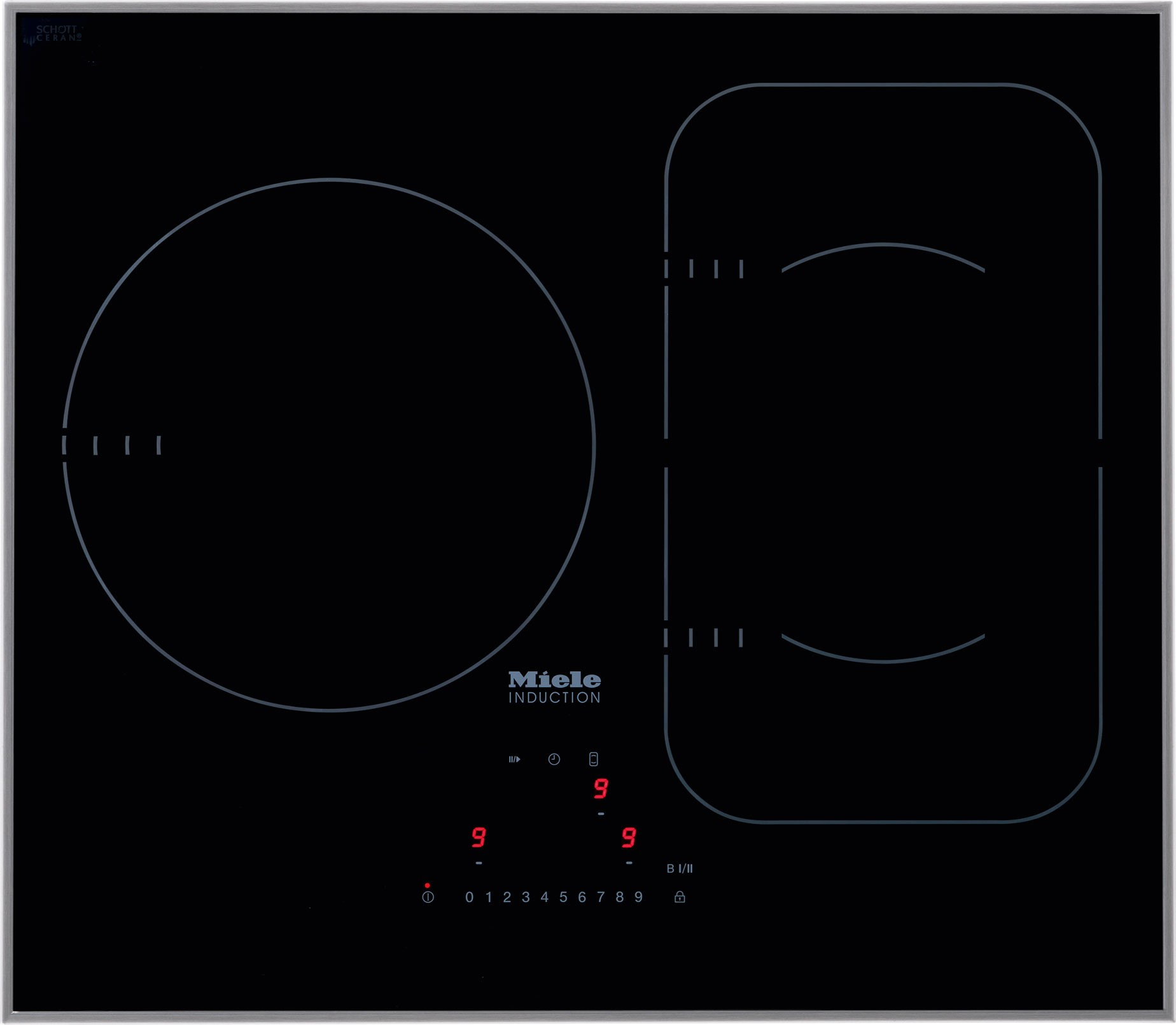 Miele Km 6320 24 Quot Induction Cooktop