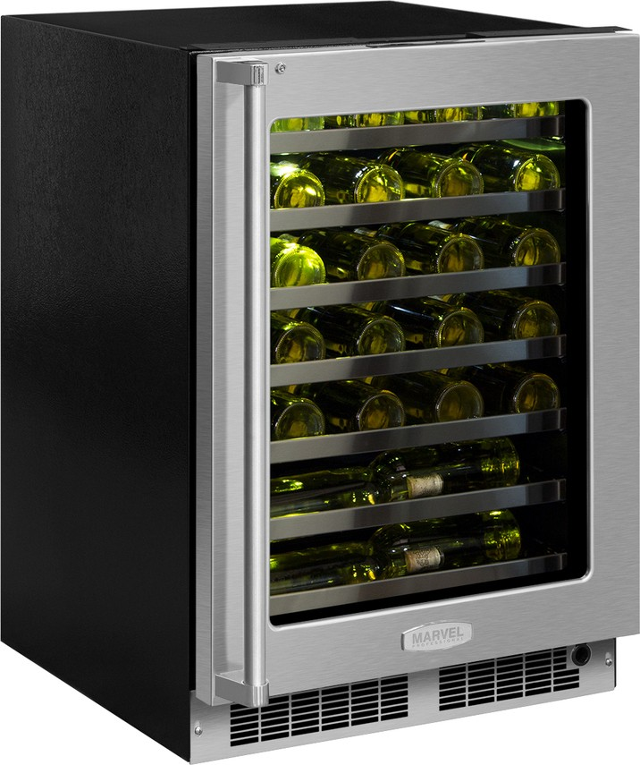Mp24wsg5rs Marvel 24 Quot Undercounter Wine Cooler Flush