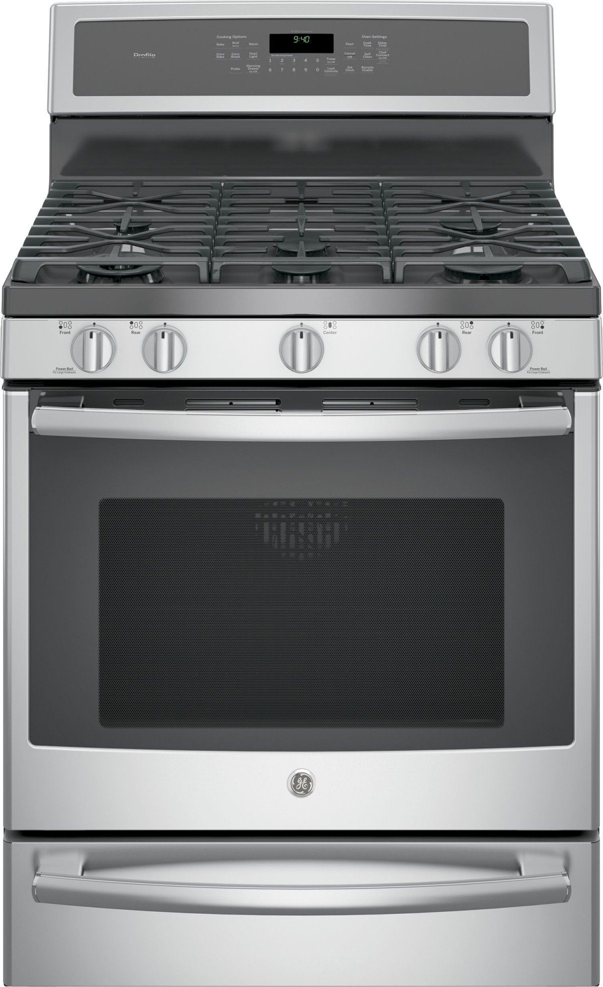 P2b940sejss Ge Profile 30 Quot Dual Fuel Range Convection Stainless Steel