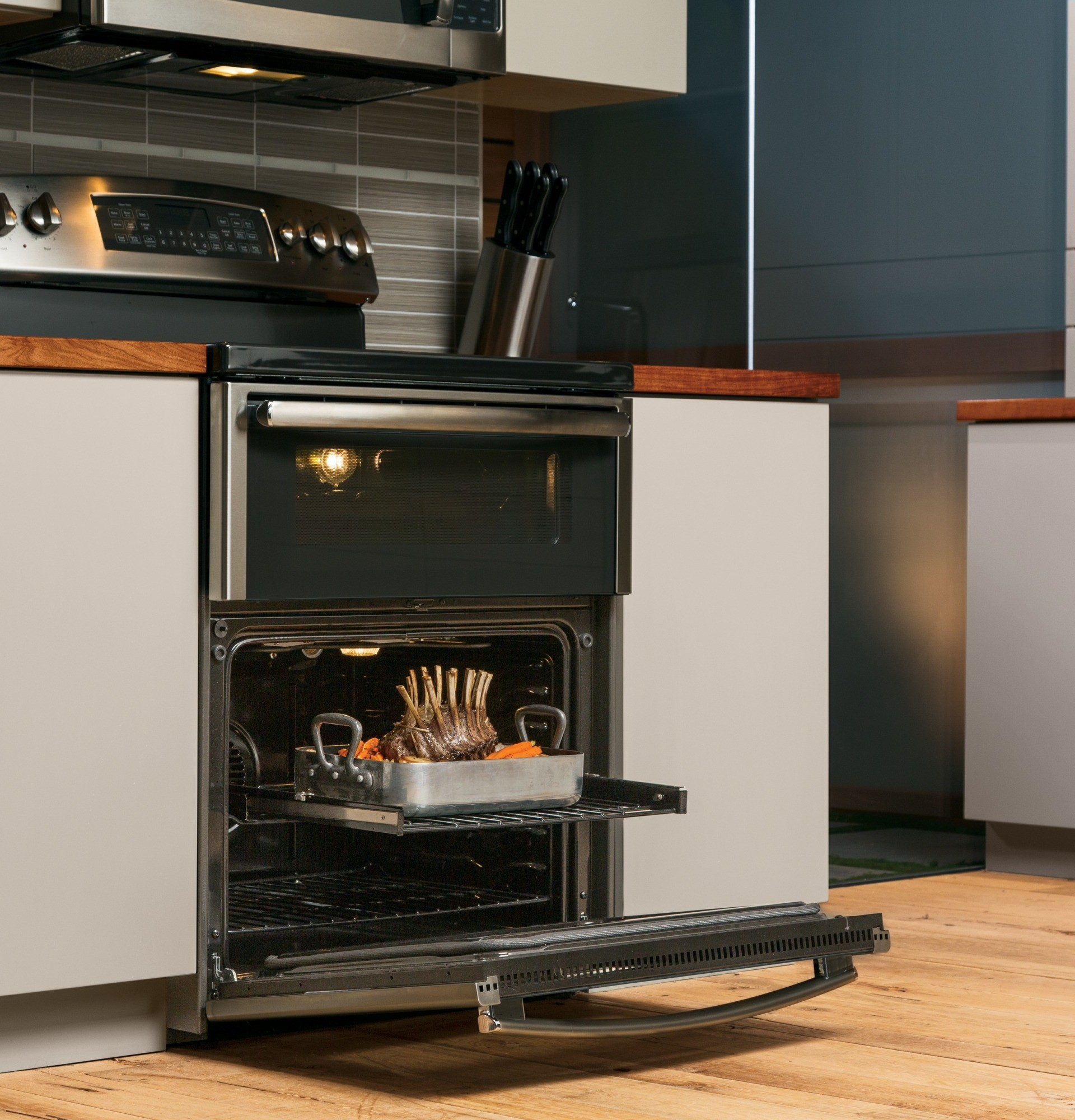 Pb950sfss Ge Profile Series 30 Quot Free Standing Double