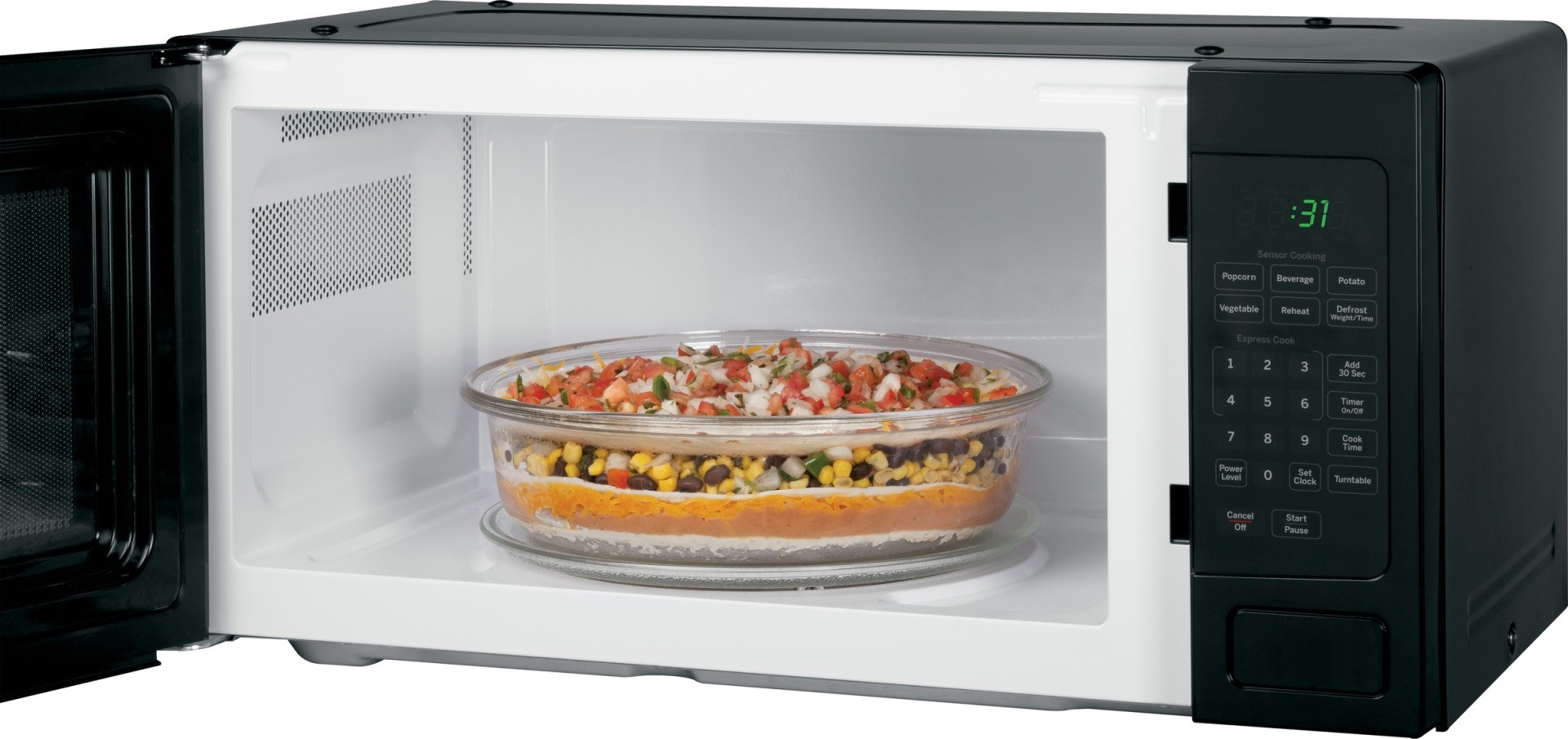 ... GE Profile 1.1 Cu. Ft. Microwave Oven, Countertop or Built In - Black